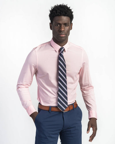Commuter Dress Shirt Pink / Small / Notifyfeatured image