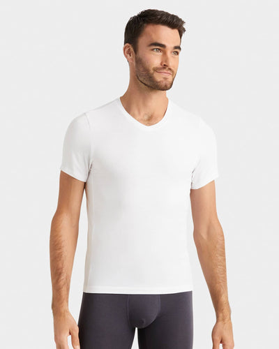 Everyday Essentials V-Neck Bright White / Medium / New Set Notifyfeatured image