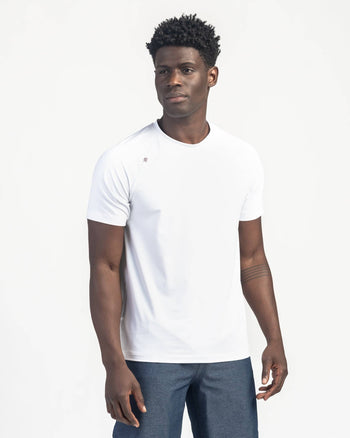 Reign Short Sleeve Bright White / Small / Notifyfeatured image