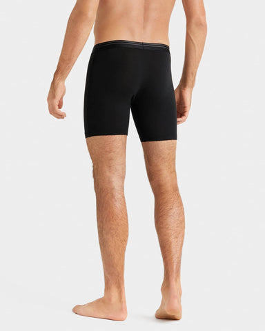Everyday Essentials Boxer Brief Black back image