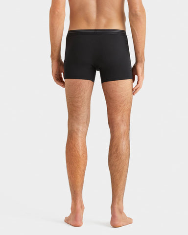 Everyday Essentials Boxer Trunk Black back image