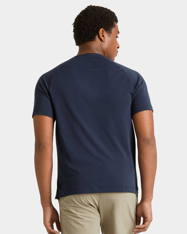 Notch Performance Pique Tee - Sale Navy / Small / Saleback image