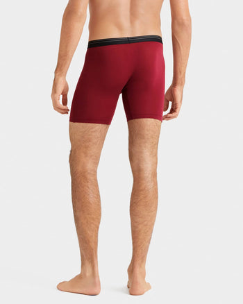 Everyday Essentials Boxer Brief Rhododendron  Setback image