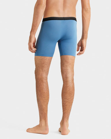 Everyday Essentials Boxer Brief Captain's Blue back image