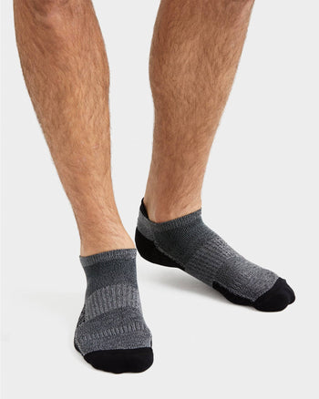 Active Essentials Ankle Sock Heather Gray/Black / M / New Setfeatured image