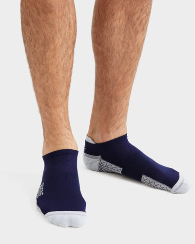 Active Essentials Ankle Sock Navy/Heather Gray / L / New Setfeatured image