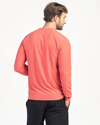 Reign Long Sleeve - Sale Barbados Cherry Heather / Small / Saleback image