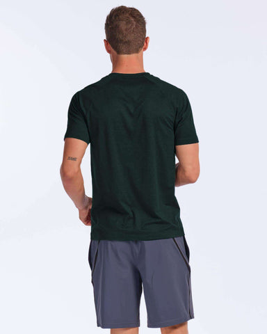Reign Short Sleeve Ponderosa Pine Heather back image