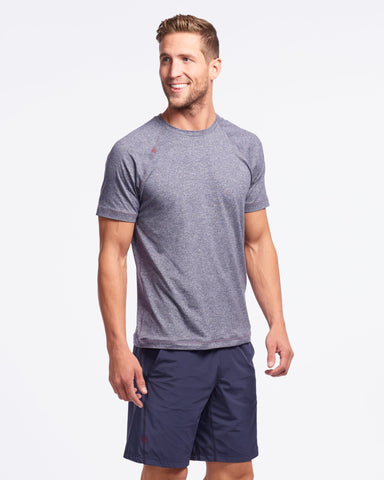 Reign Short Sleeve Midnight Heather featured image