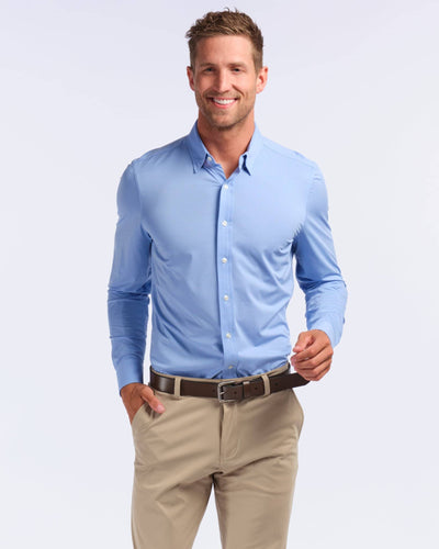 Commuter Dress Shirt Blue / Small / Nonefeatured image