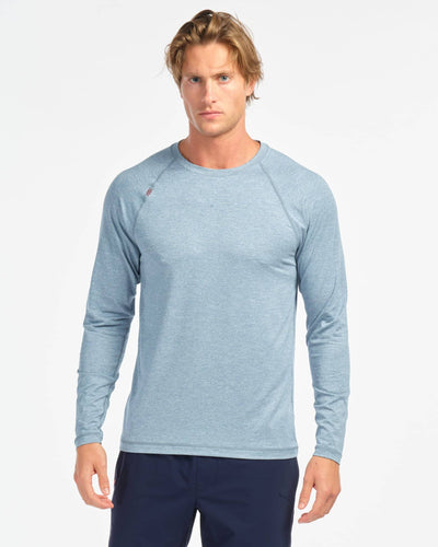 Reign Long Sleeve Bluestone Heather featured image