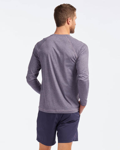 Reign Long Sleeve Lavender Heather back image