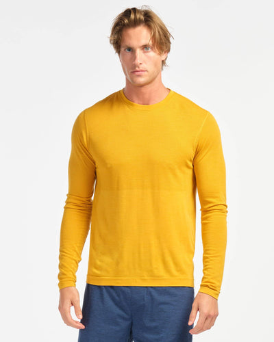 Taupo Wool Seamless Long Sleeve Autumn Blaze featured image