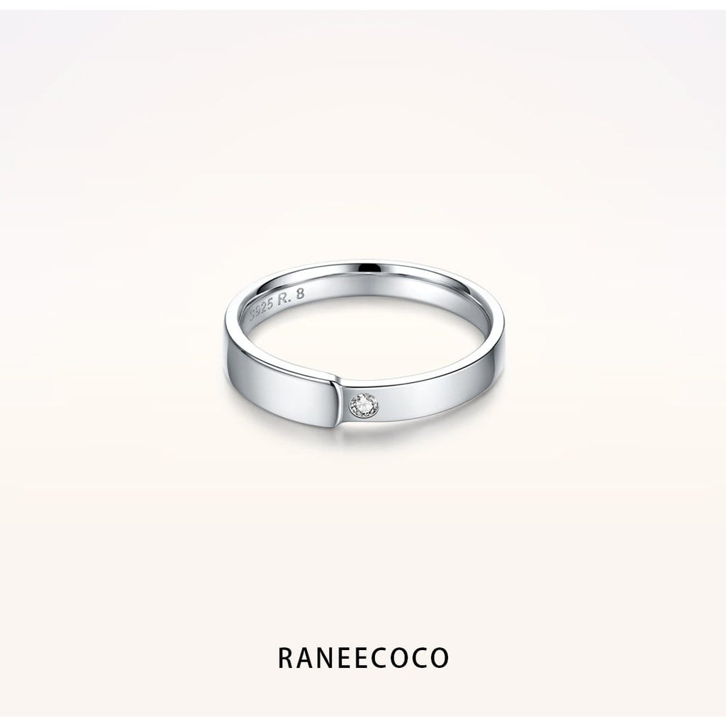 Raneecoco Jewelry 5 Asymmetric Ring for Men