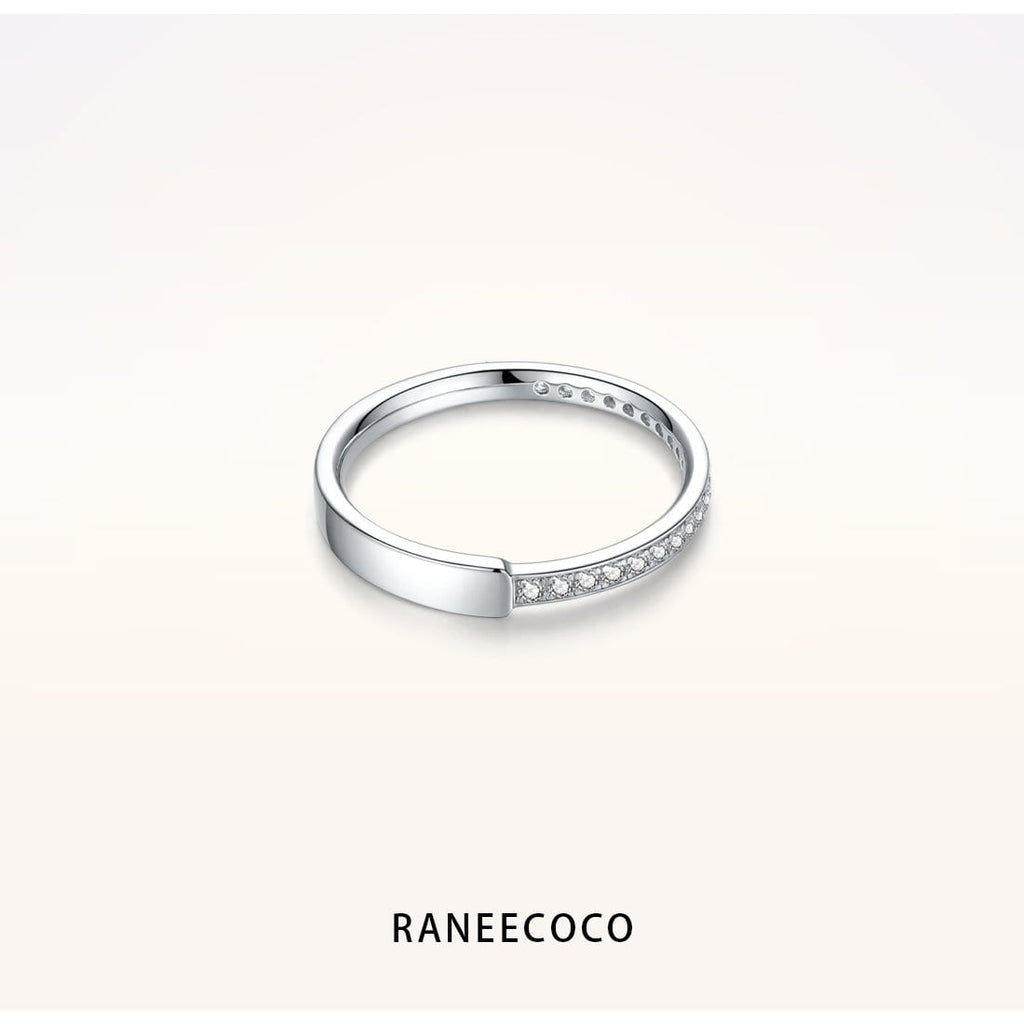 Raneecoco Jewelry 5 Asymmetric Ring for Women