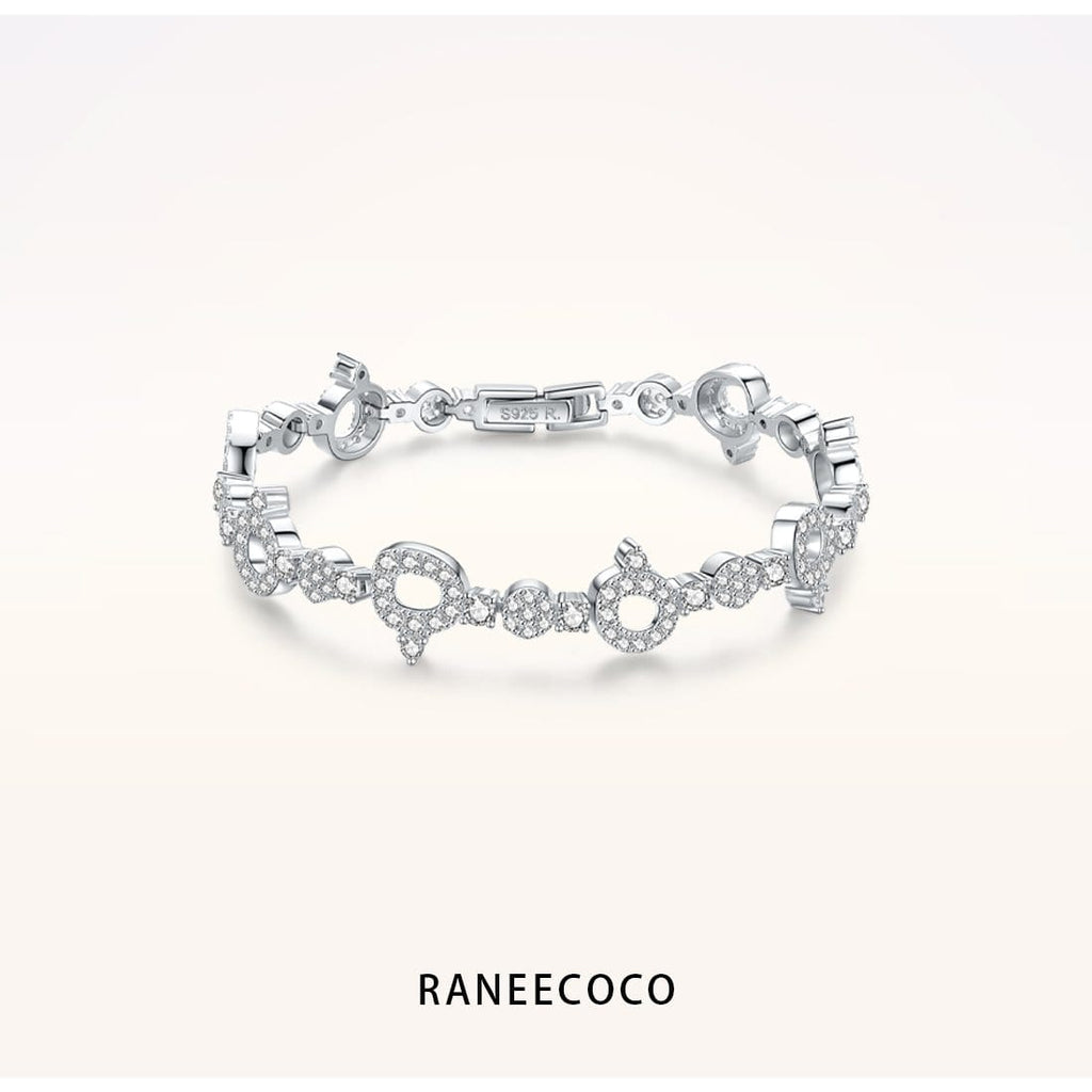 Raneecoco Jewelry Brilliant Fire Bracelet