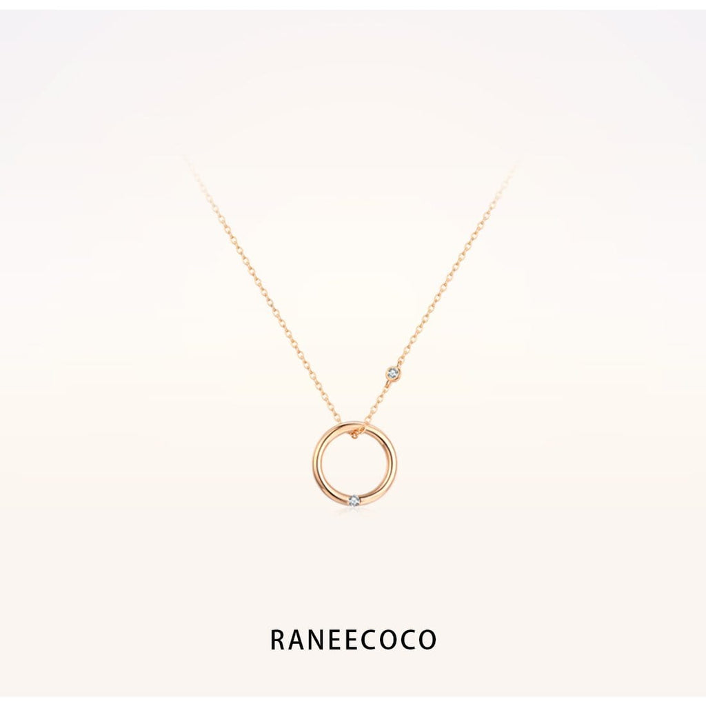 Raneecoco Jewelry Circle Necklace