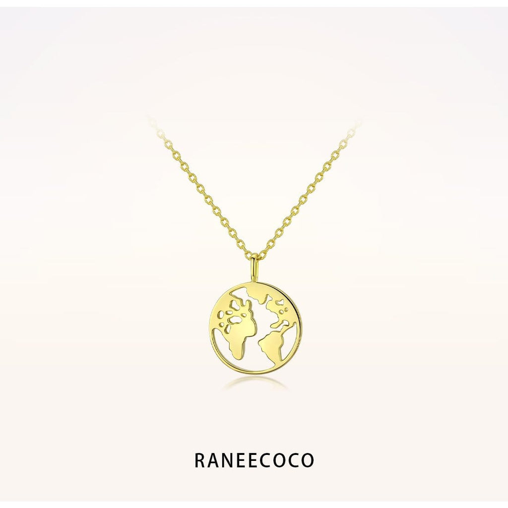 Raneecoco Jewelry Earth Necklace