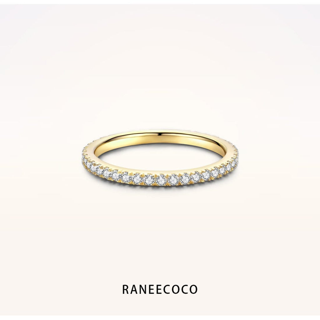 Raneecoco Jewelry Yellow / 5 Stackable Ring