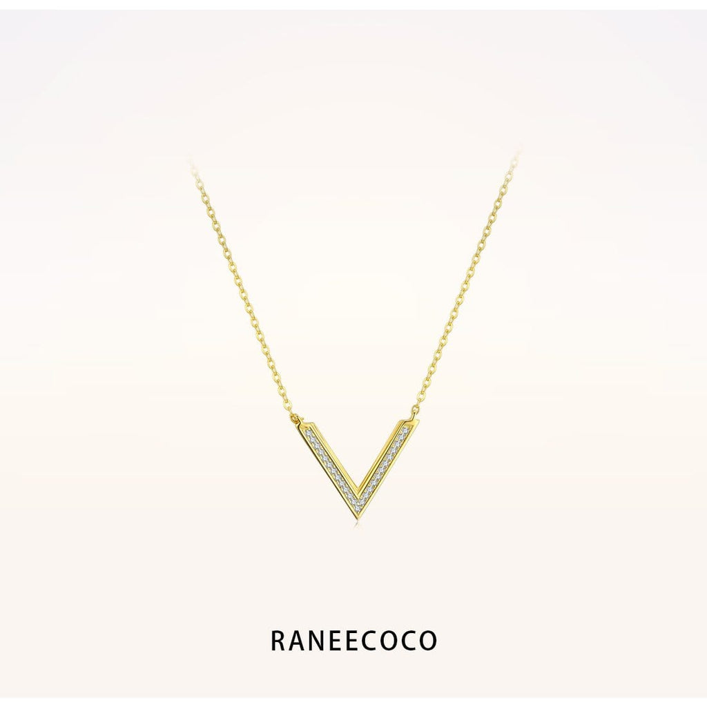 Raneecoco Jewelry Yellow Victory Necklace