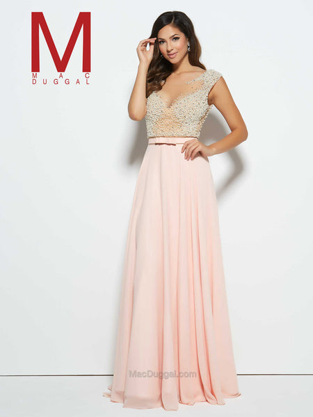 Mac Duggal 20046 Blush