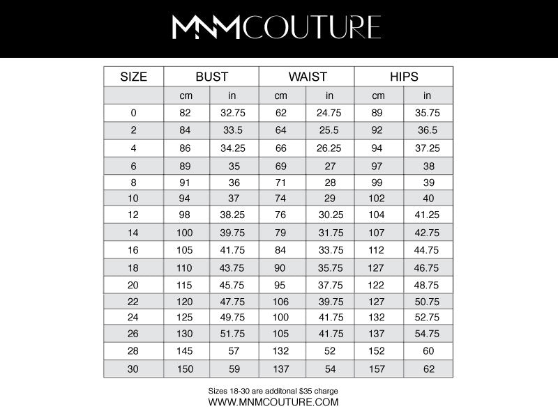 MNM COUTURE K3850 DRESS