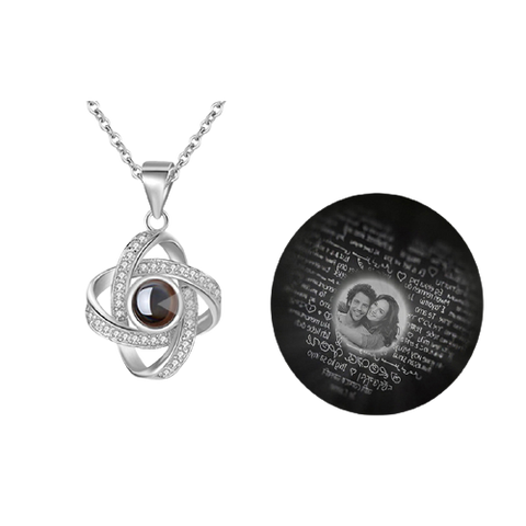 Photo Projection Necklace - goldfi - gold fi