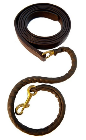 The Walsh Leather Covered Chain Lead