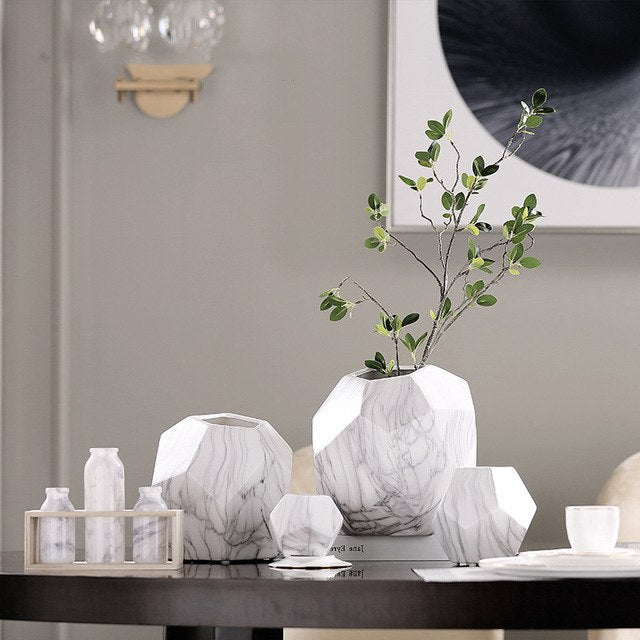 Contemporary Marble Vase