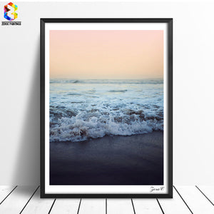 Warm Sea Canvas Posters