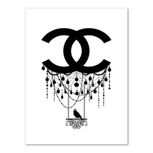 Modern Couture Wall Art Print Picture
