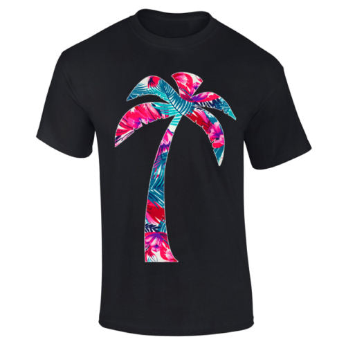 Mens Palm Tree Tropical Summer Fresh Vibe