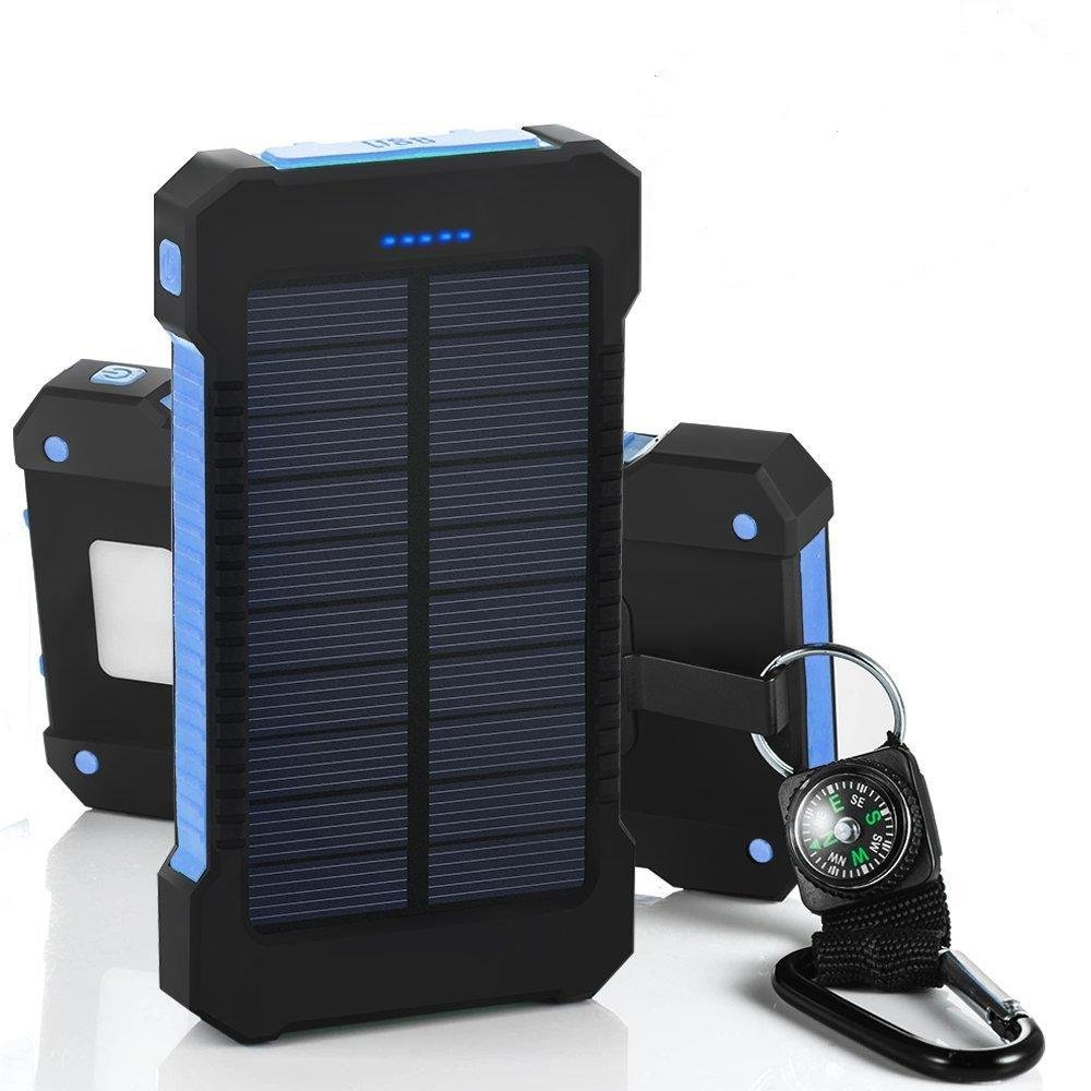 Load image into Gallery viewer, WATERPROOF SOLAR CHARGER DUAL USB - planetadeals.com