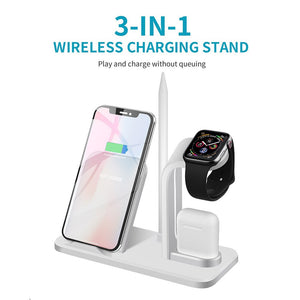 I-DOCK 3 IN 1 WIRELESS CHARGER - planetadeals.com