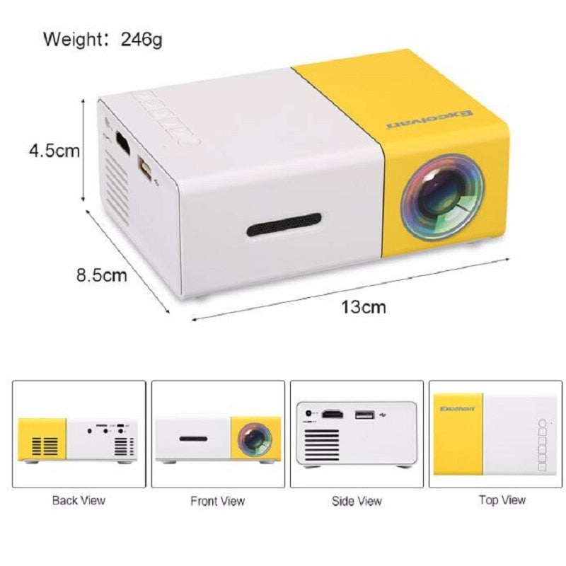 Load image into Gallery viewer, LUMINAX MINI PROJECTOR - planetadeals.com