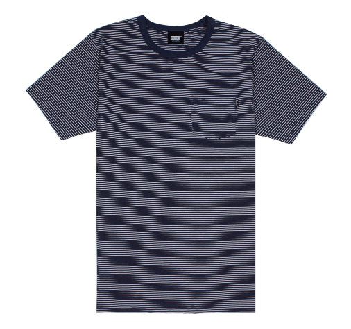 Belief Striped Pocket Tee