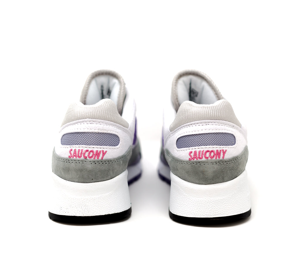 Saucony Shadow 6000- wht/gry/purp