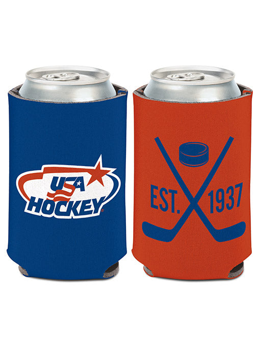 USA Hockey 12 oz. Can Cooler