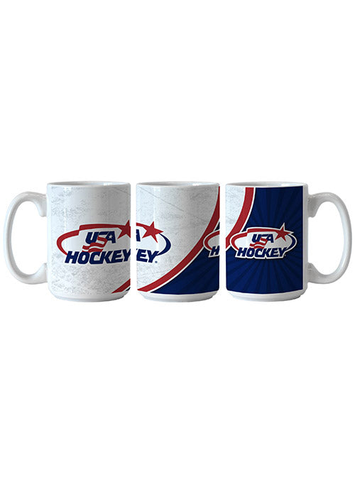 USA Hockey 15 oz. Mug