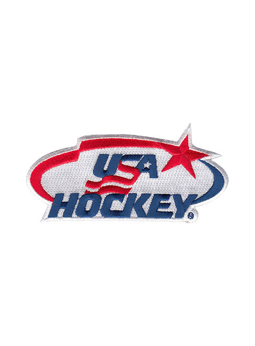 USA Hockey Small Embroidered Emblem