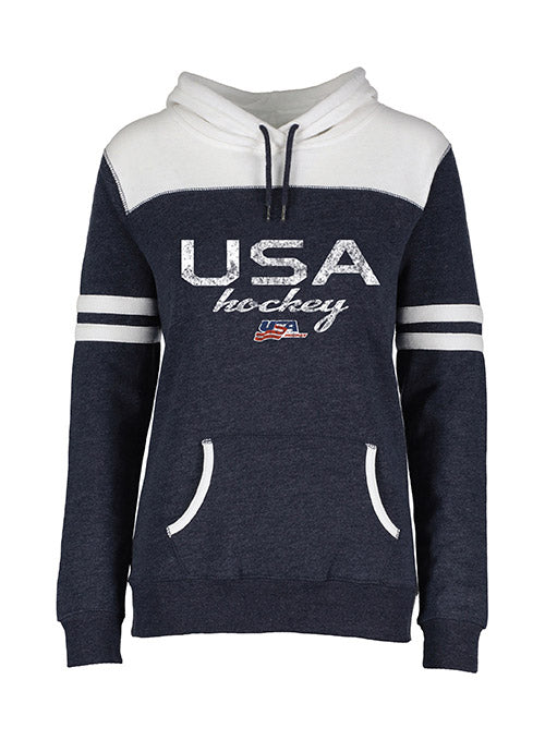Ladies USA Hockey Varsity Hooded Sweatshirt