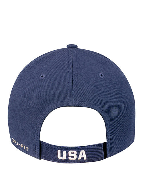 Nike USA Hockey Classic99 Navy Adjustable Hat
