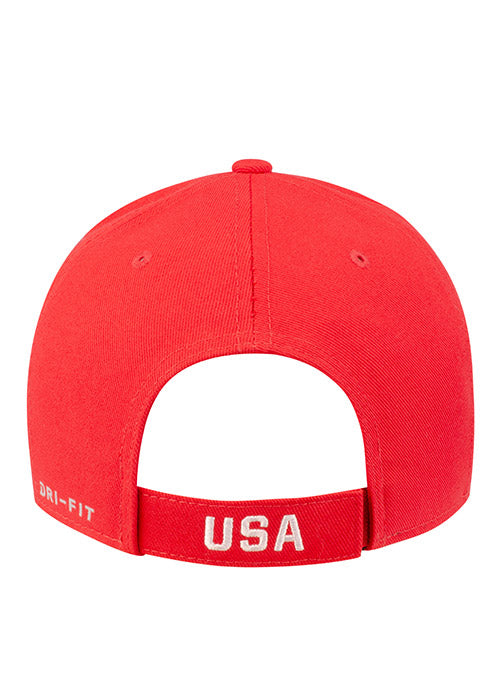 Nike USA Hockey Classic 99 Red Adjustable Hat