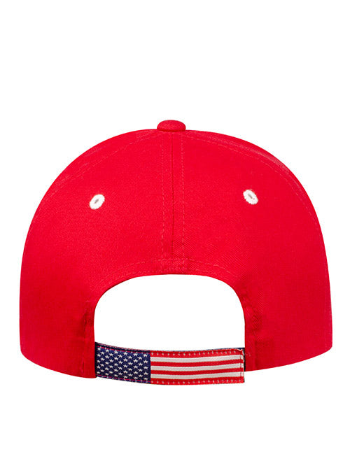 USA Hockey Red Adjustable Hat