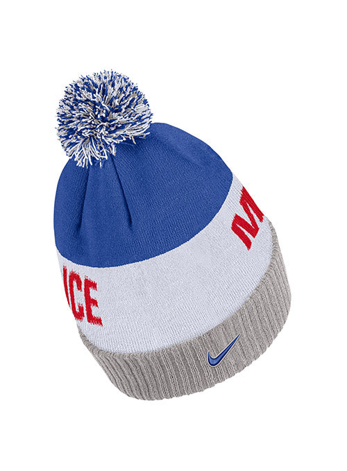 Nike USA Hockey Miracle On Ice Classic Stripe Knit Hat