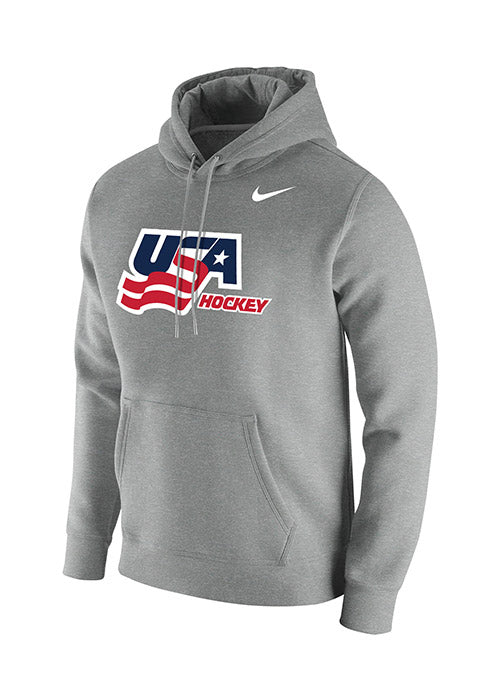Nike USA Hockey Cotton Hooded Sweatshirt