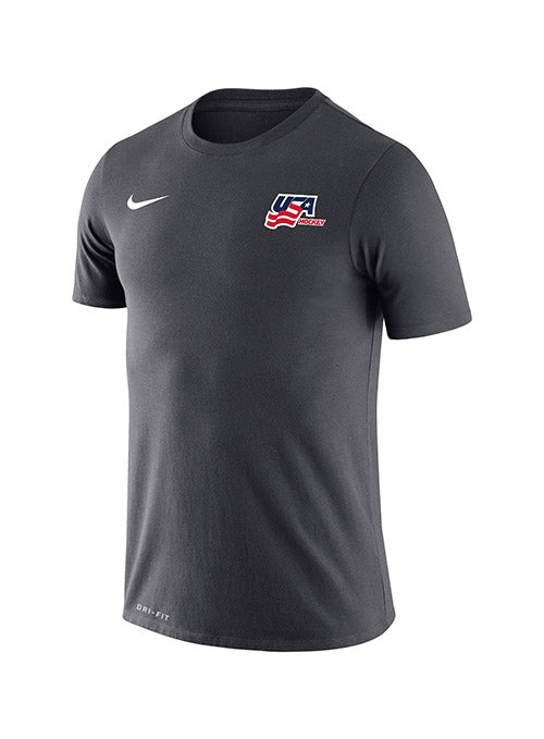 Nike USA Hockey Dri-FIT Secondary Logo T-Shirt