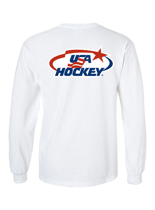 USA Hockey Arc & Star Logo Long Sleeve T-Shirt