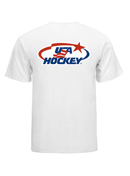 USA Hockey Arc & Star Logo T-Shirt