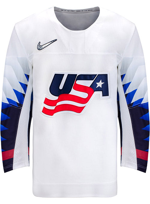 Cielo lecho accidente  Nike USA Hockey Home Jersey | USA Hockey Shop